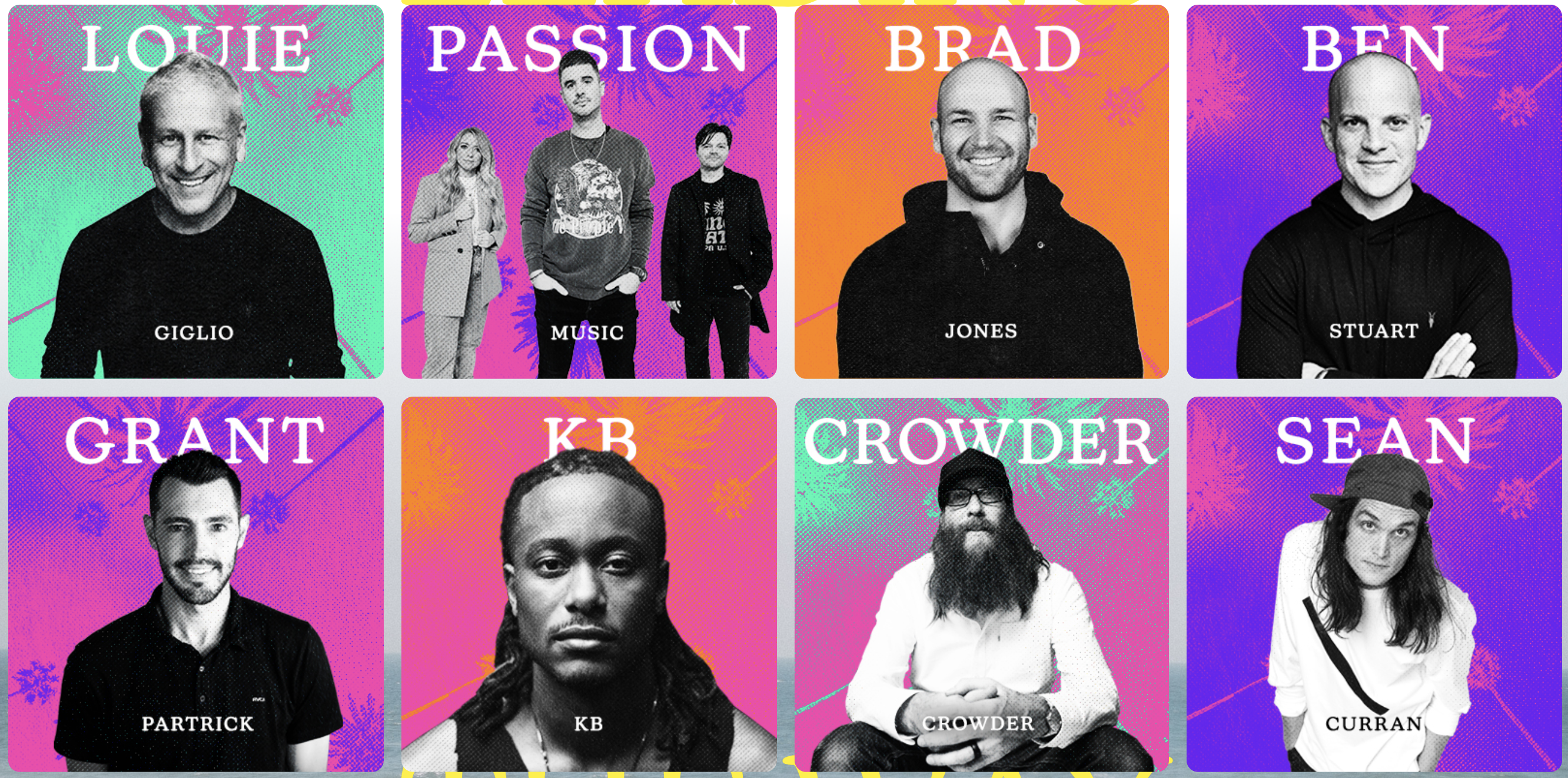 Passion Speakers and Singers