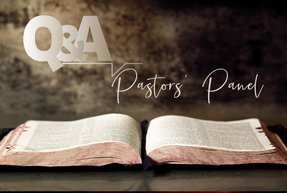Pastoral Panel Q & A Sunday Evening Discussions banner
