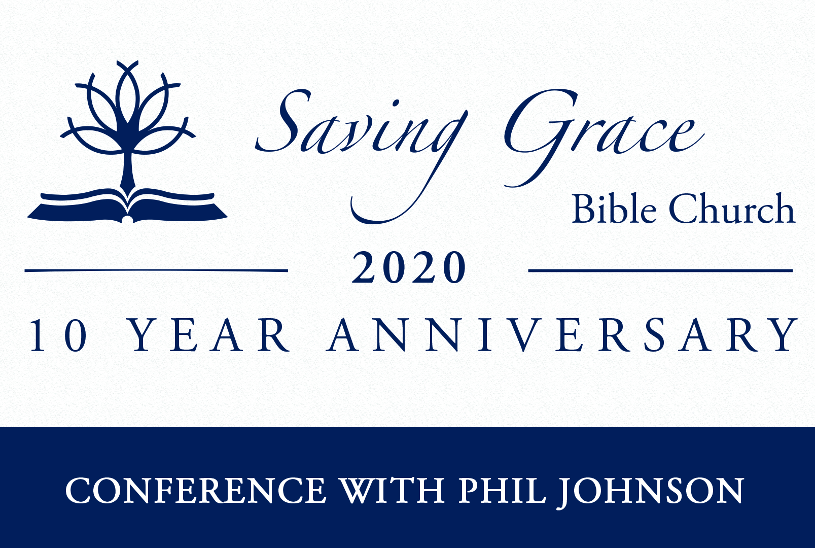 10 Year Anniversary Conference banner