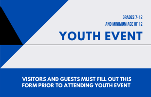 YOUTH EVENT GUEST SIGN UP