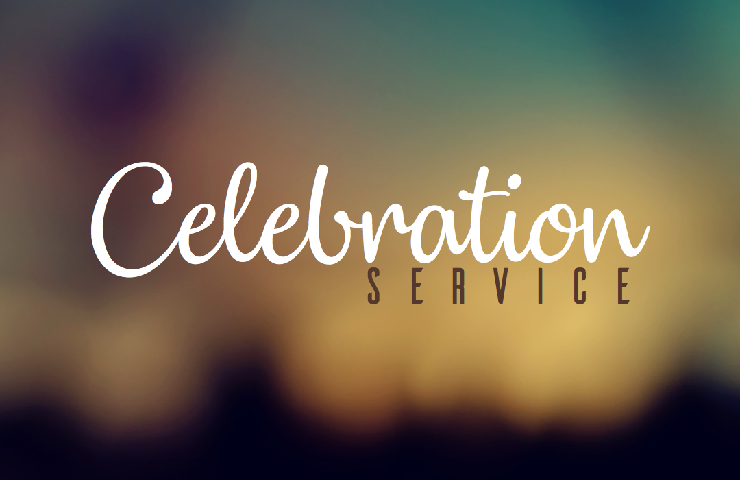 Celebration Service - Event Graphic