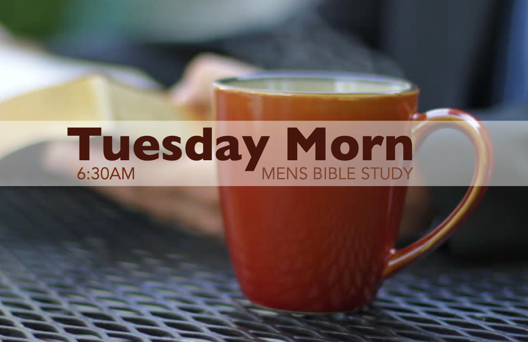 Men's Bible Study - Tuesday image