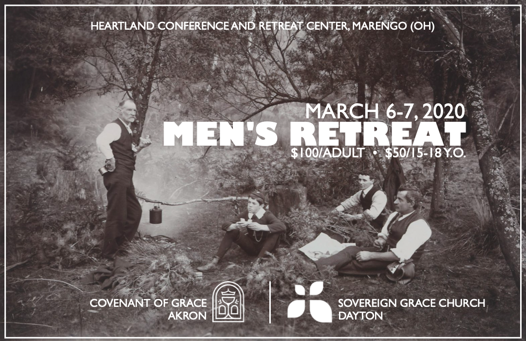 Men's Retreat 2020 - Event Graphic