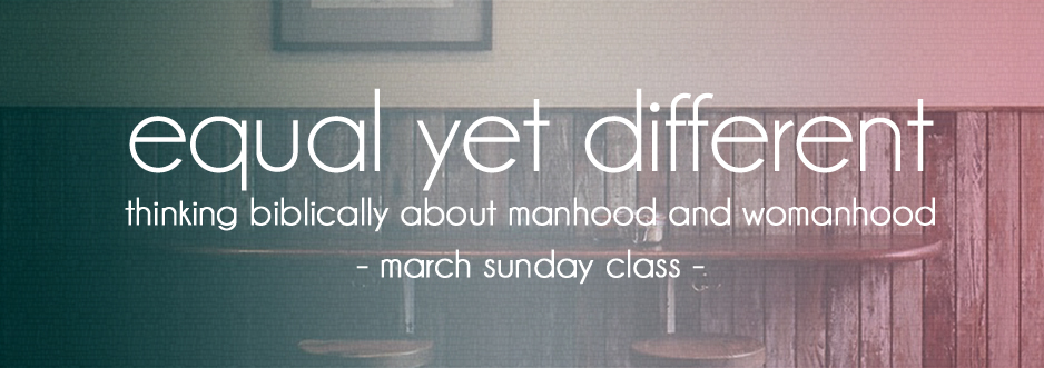 Manhood-womanhood small