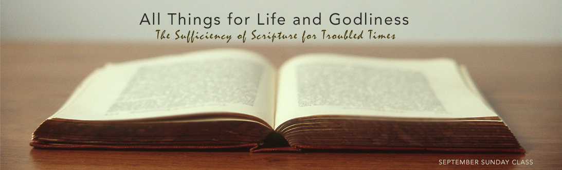 SufficiencyofScripture_SundayClass2