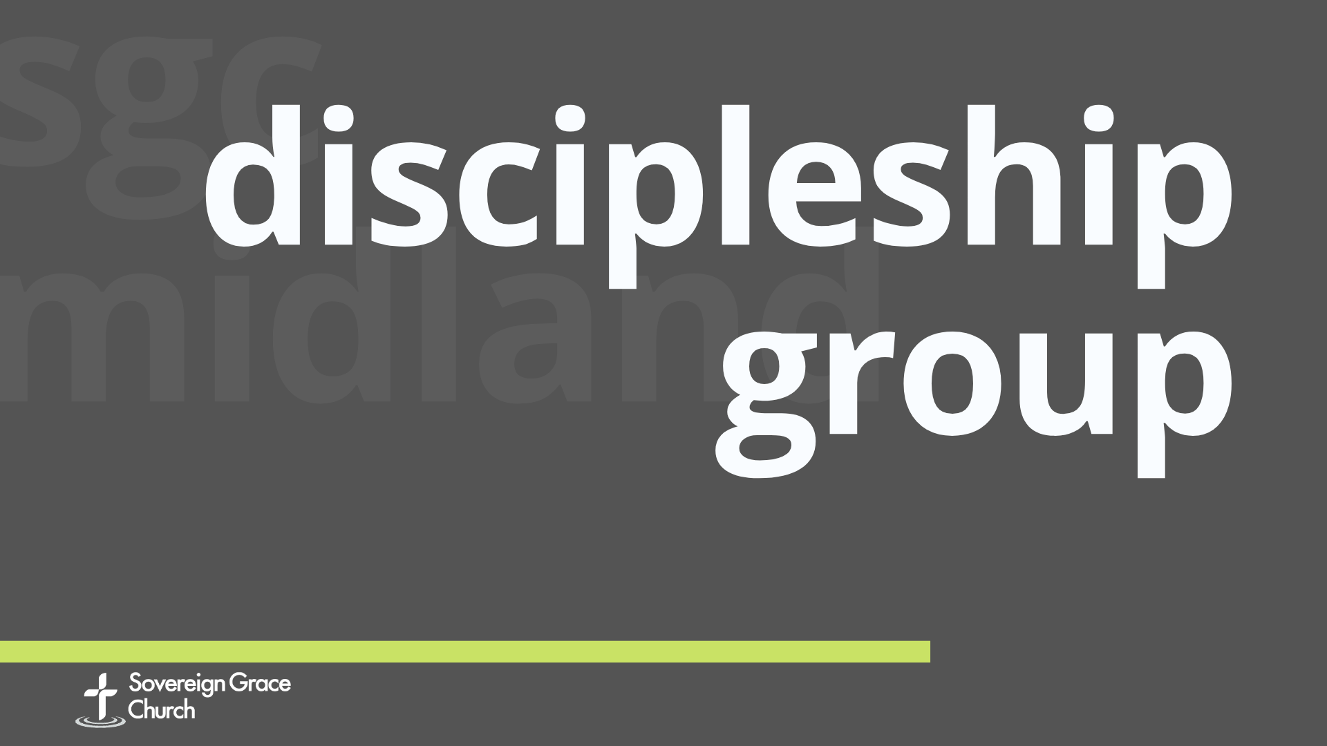 discipleship group image