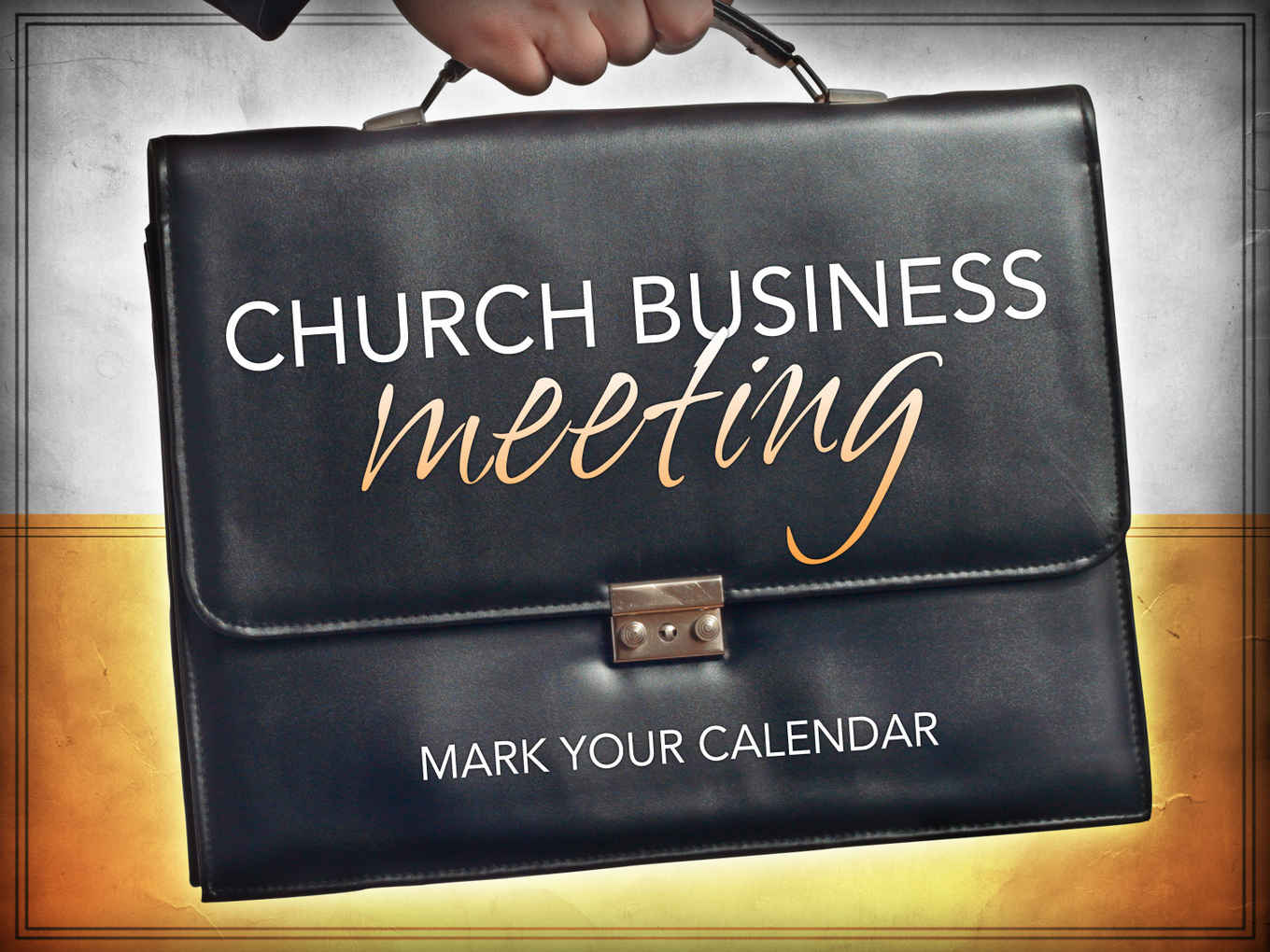 church business meeting_t image