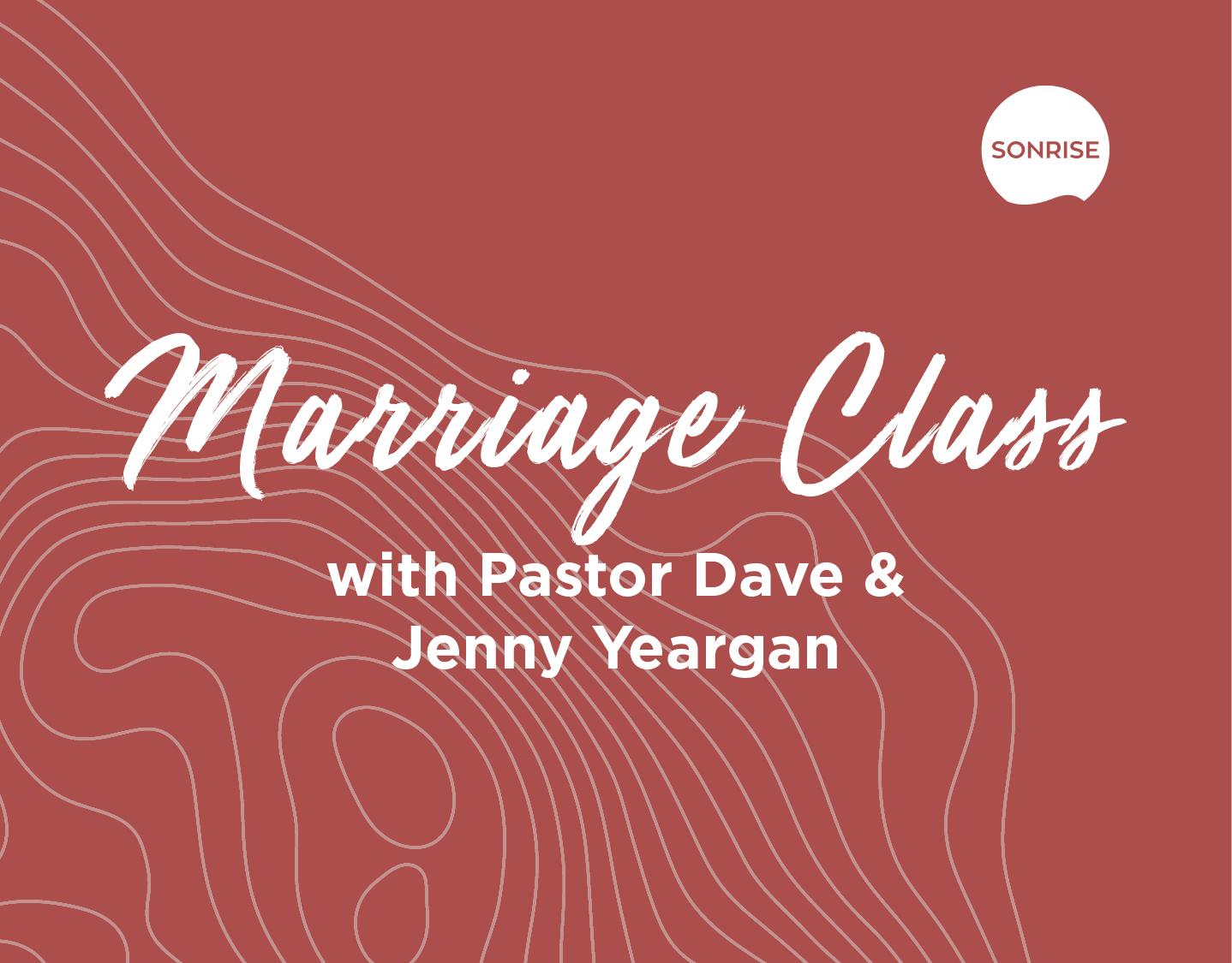 Marriage Class banner