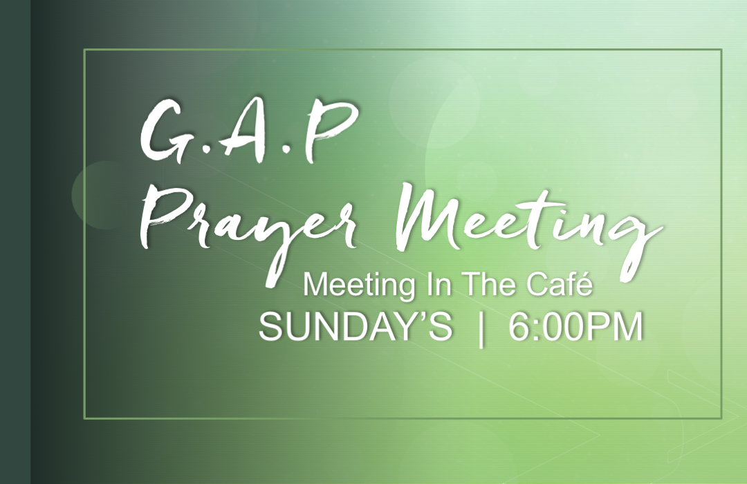 GAP Prayer