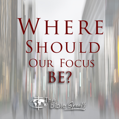 Where Should Our Focus Be