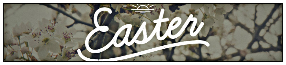 Easter Sunday banner