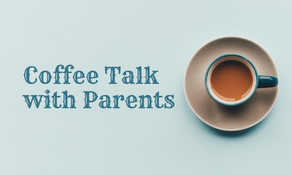 Coffee Talk Homepage Quicklinks Template 586x352 px