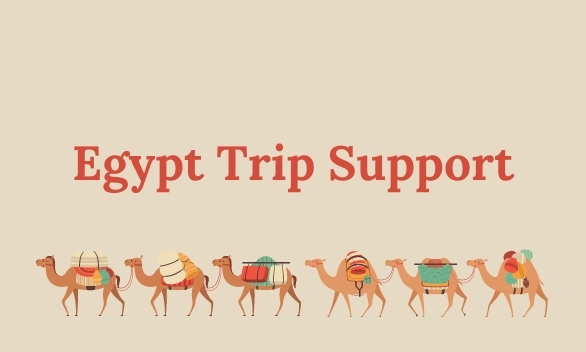 Support the Egypt Trip Team