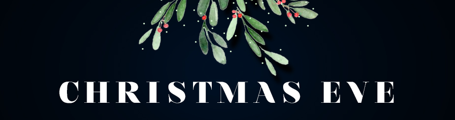 Combined Christmas Eve Service  banner