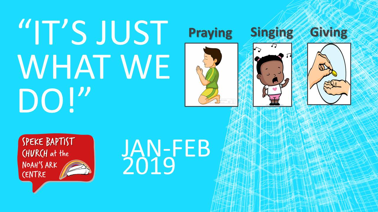 It Is Just What We Do banner