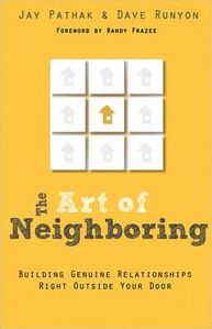 The art of neighboring book cover LR