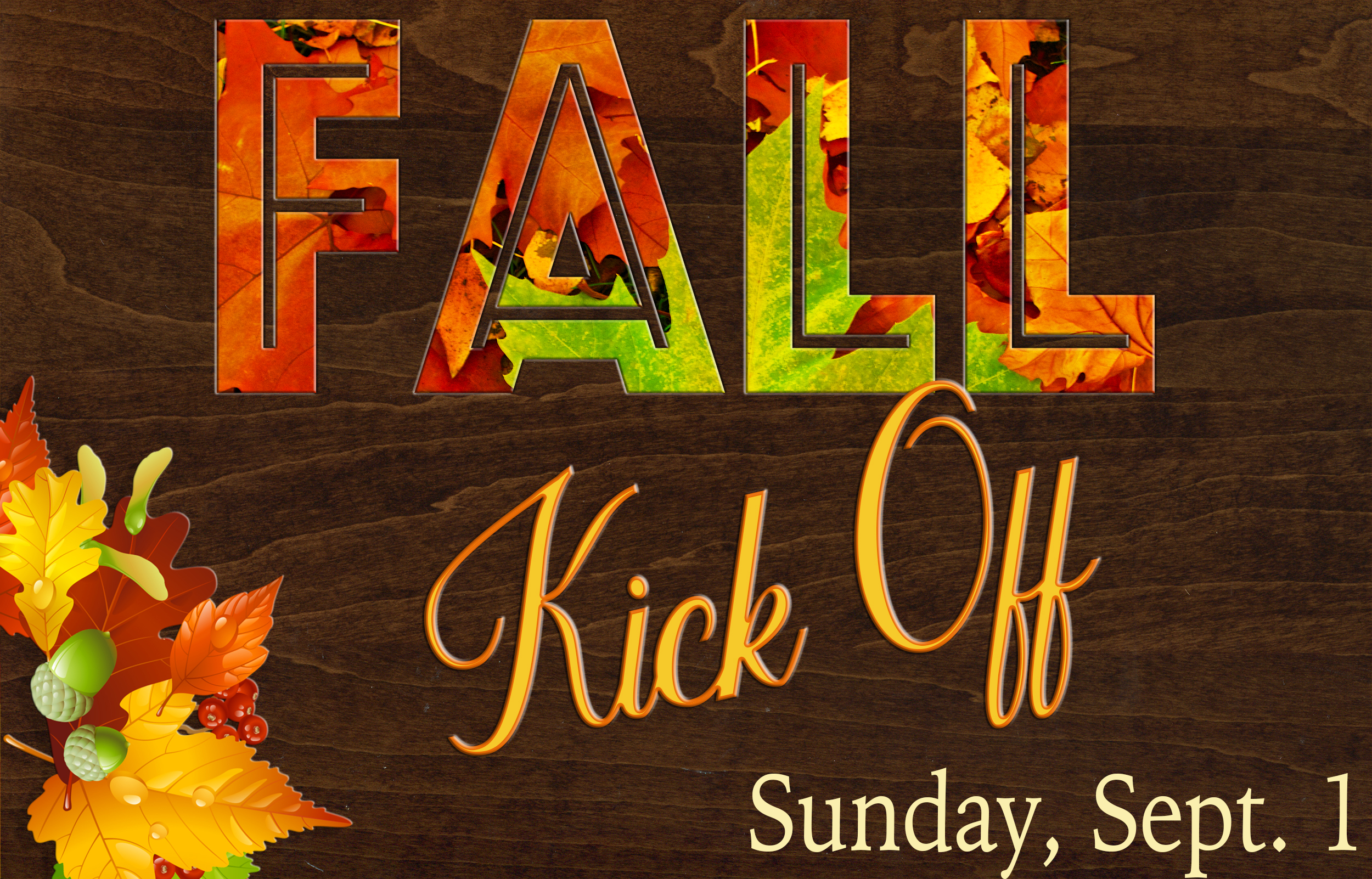 fall kickoff slider