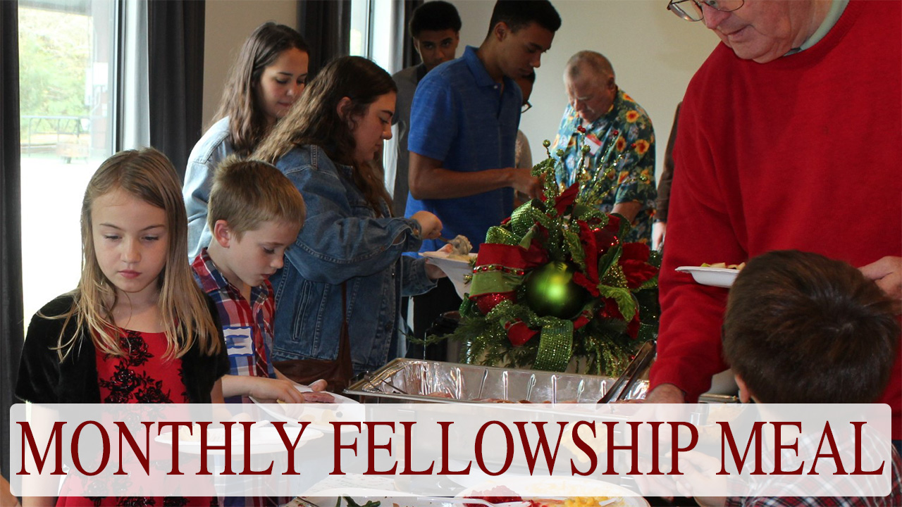 monthly fellowship meal copy image