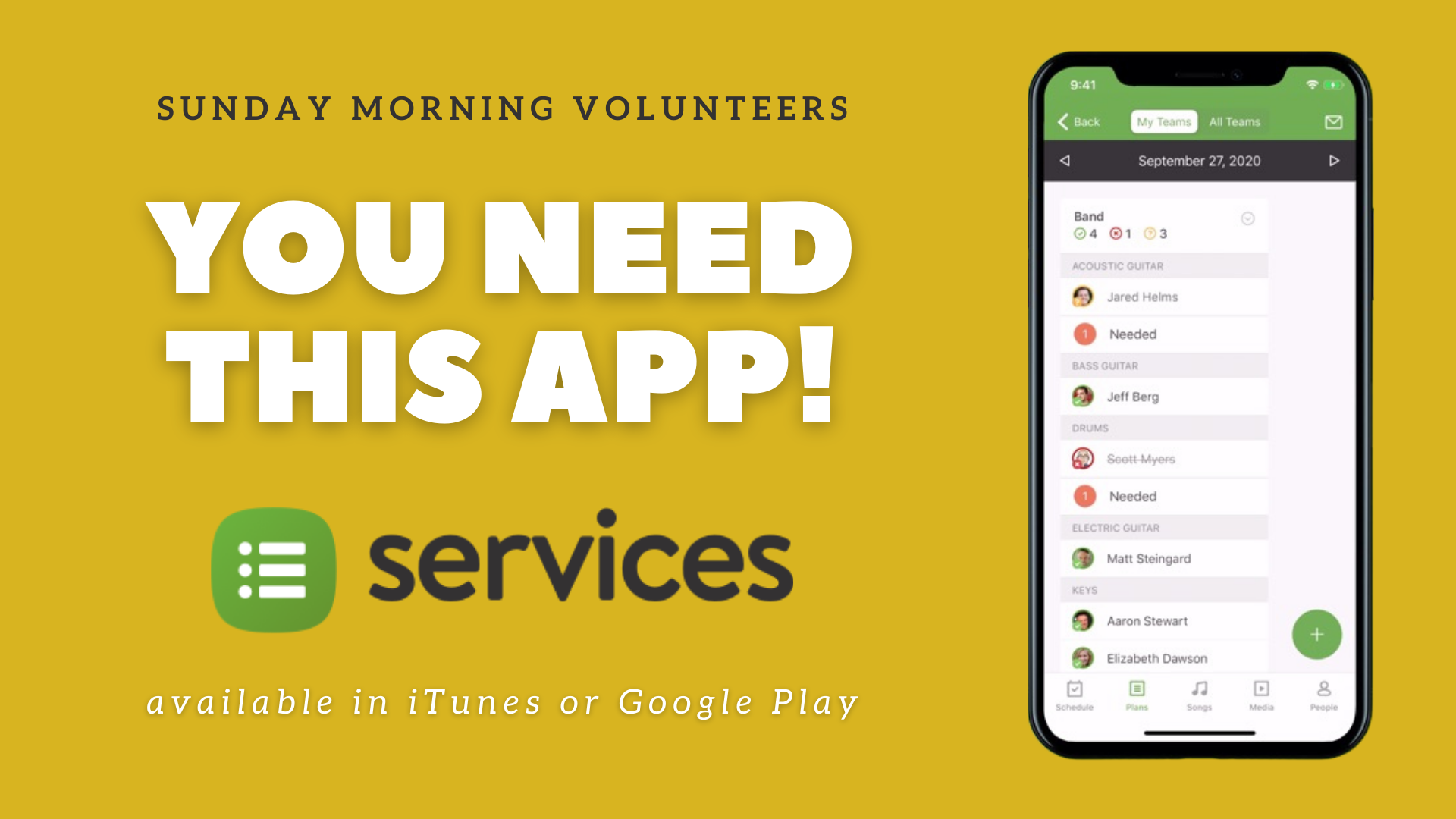 PCO Services app dow