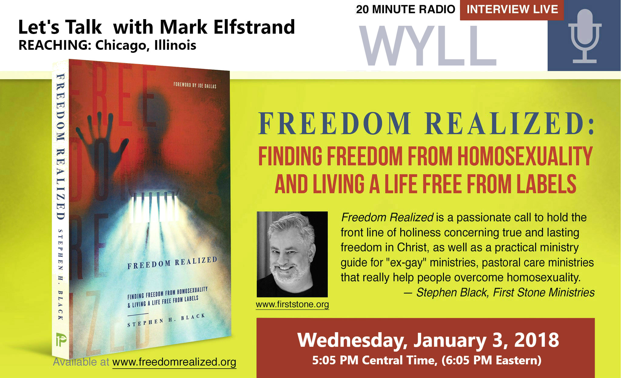 12 B - Jan 3-2018 - Mark Elfstrand - Lets Talk