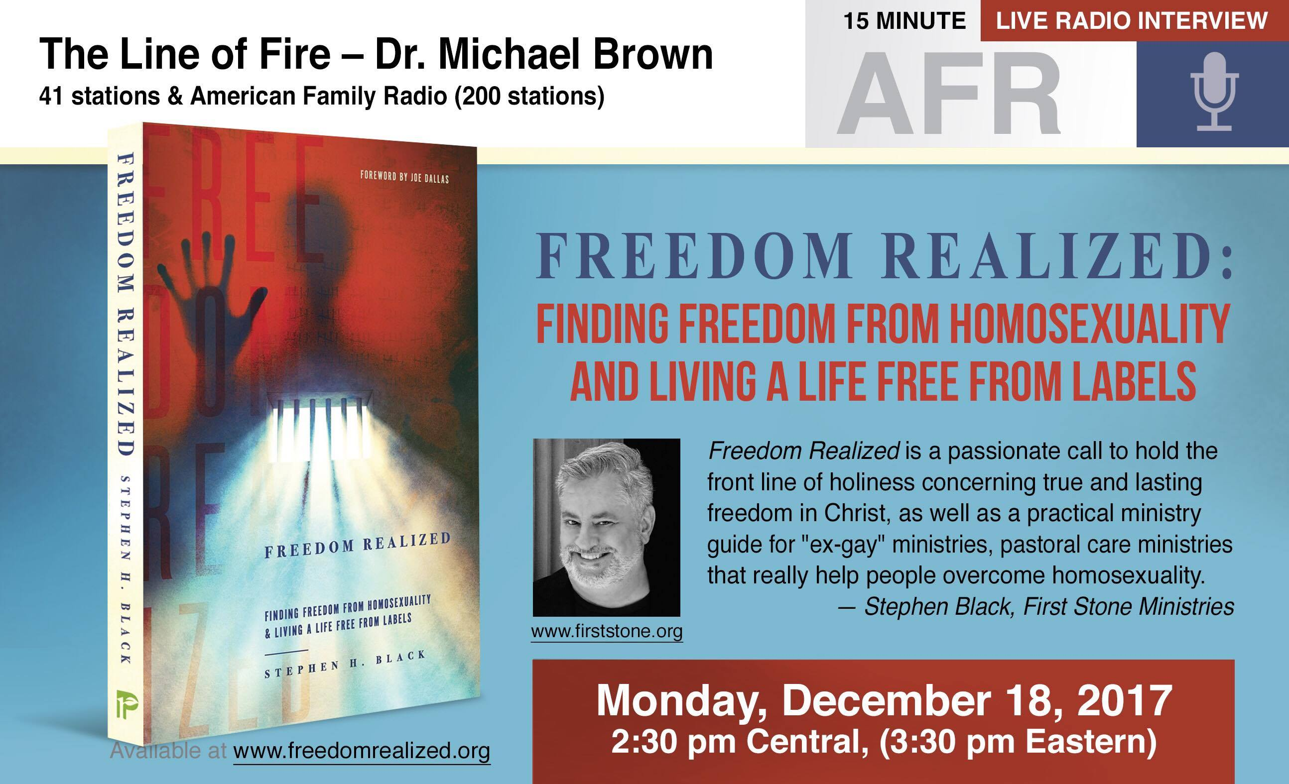 12 - FR_Ad_AFR_Network with Line of Fire_with Michael_Brown_Dec-18