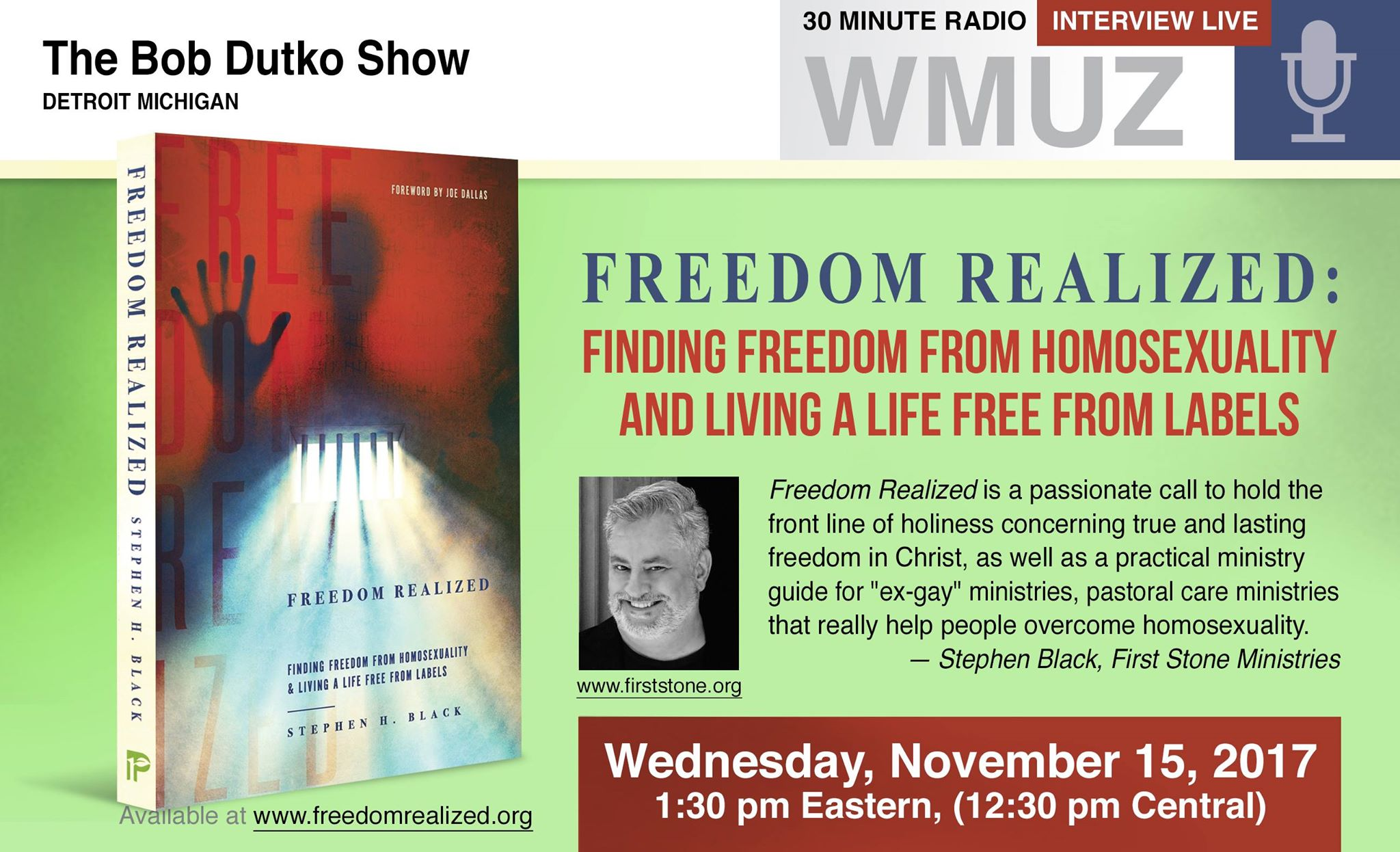 3 - The Bob Dutko Show - Wednesday, November 15, 1_30PM ET
