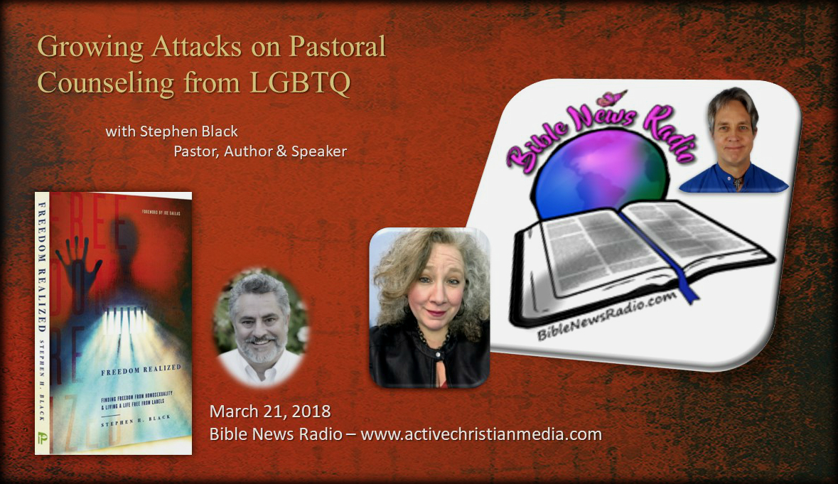 Bible News Radio - Stacy Lynn Harp - March 21 2018