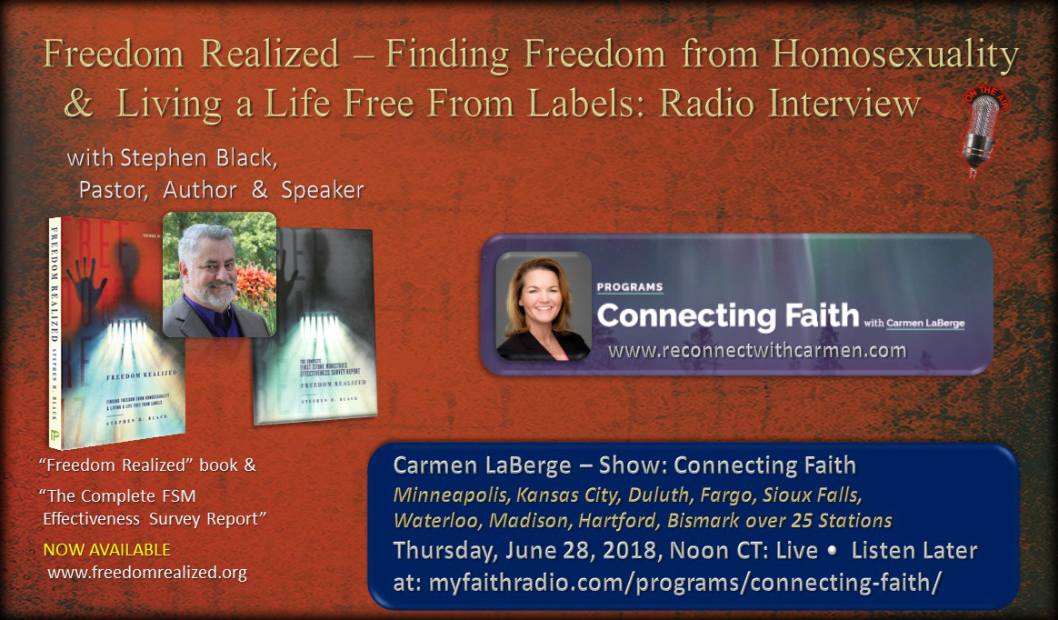 Connecting Faith - Carmen LaBerge Show - June 28, 2018