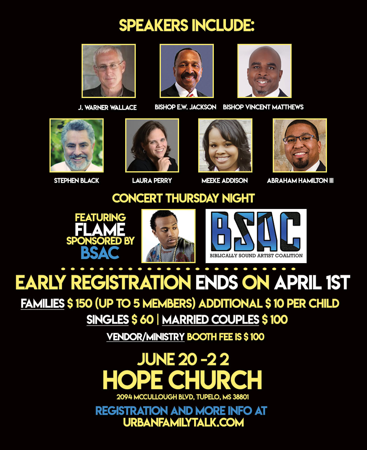 Urban Family AFA Marriage, Family and Life Conference