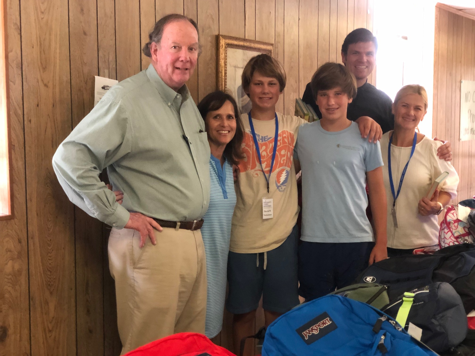 Backpack Drive Volunteers Tricounty 2019