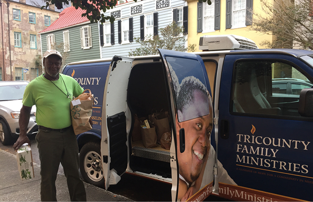 Canned Food Drive Tricounty McWhite