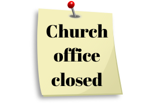 Church office closed-2 image