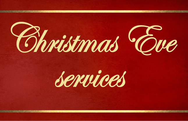Events--Christmas Eve services