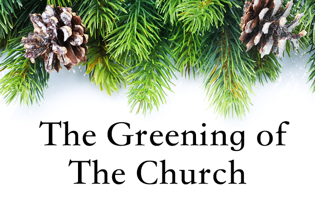 Events--Greening of the Church image
