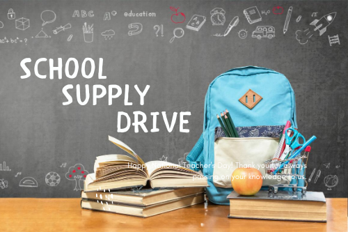 Events––School Supply Drive image