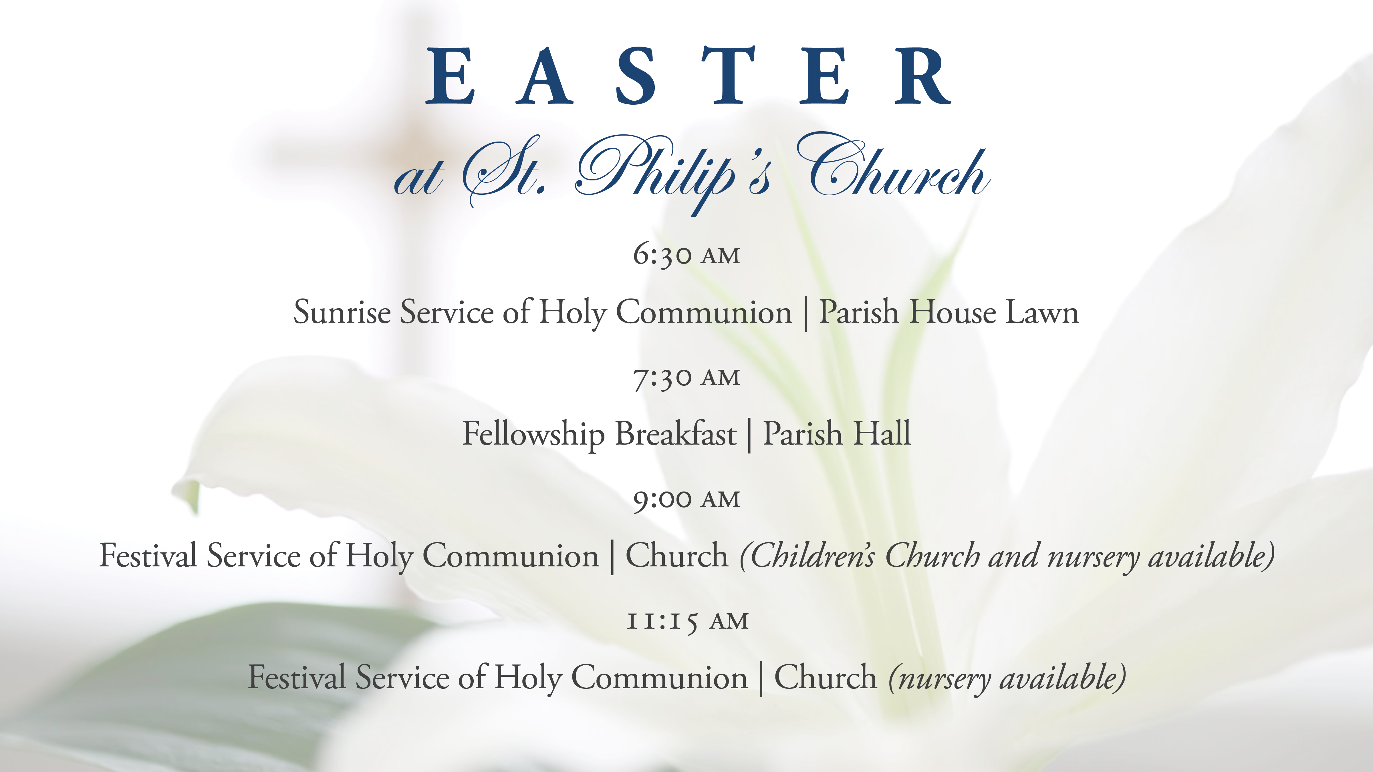 Facebook Event Cover Photo--Easter
