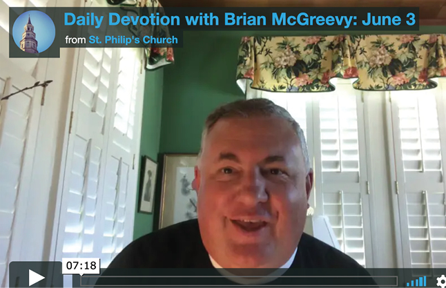 News--Devotion McGreevy June 3