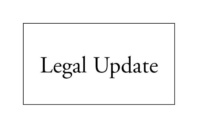 News--Legal Update
