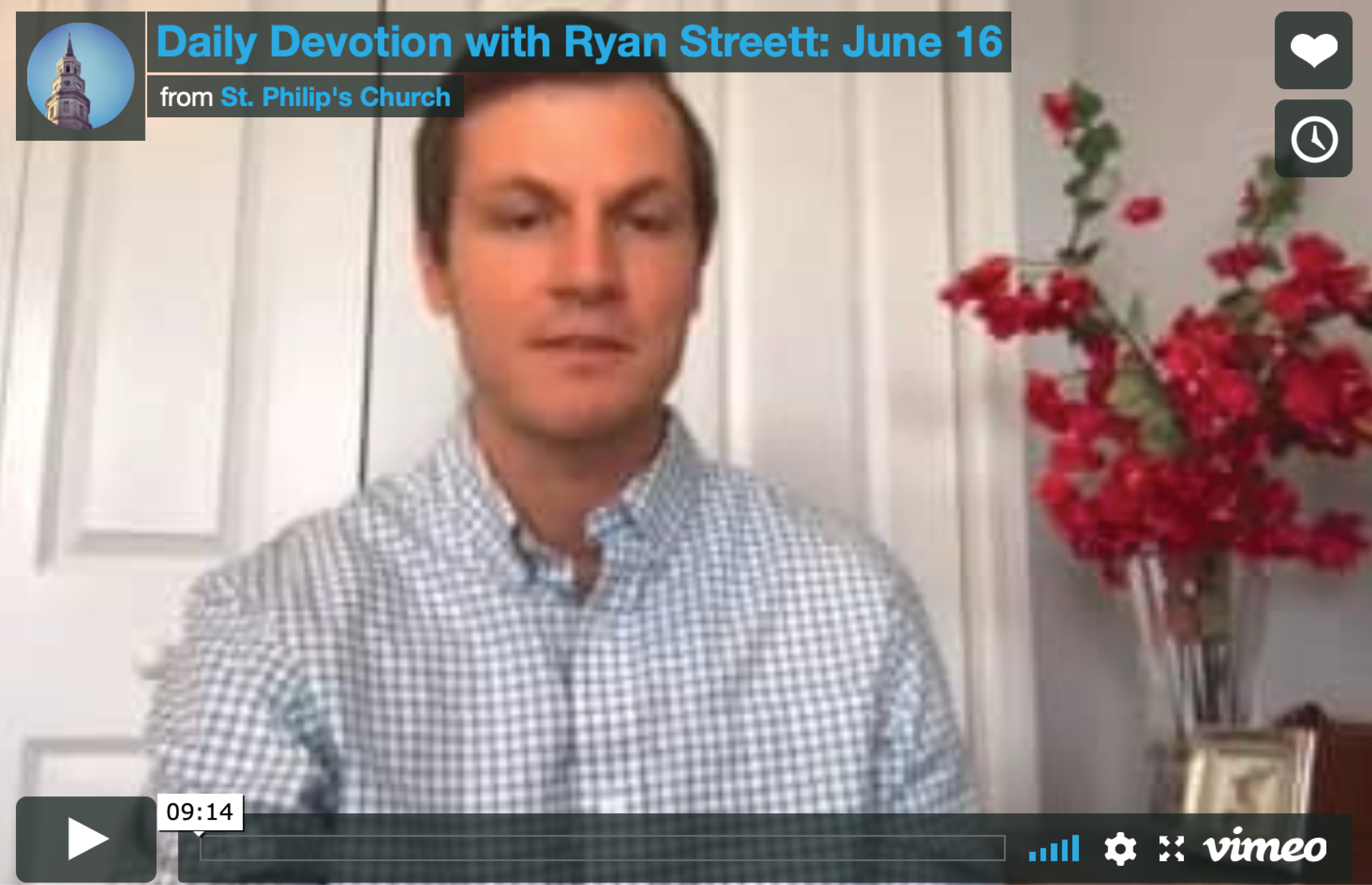 News--Streett Devotion June 16
