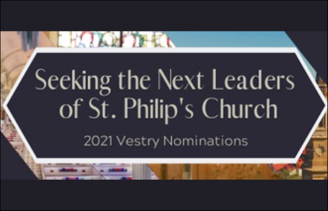 News--Vestry Nominations