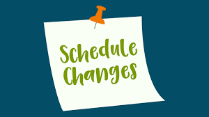 schedule-changes