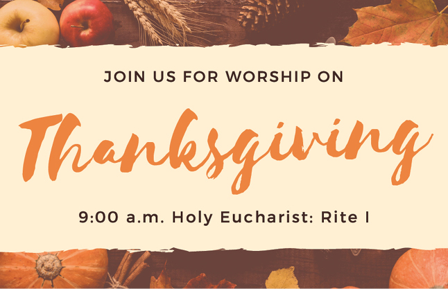 Thanksgiving Service News