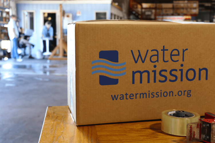 Water mission box