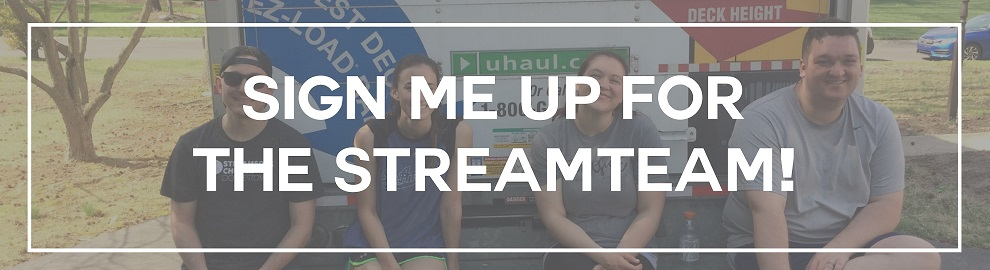 Sign Me Up for the streamTEAM4