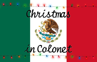 Christmas In Colonet 2017 Event Graphic image