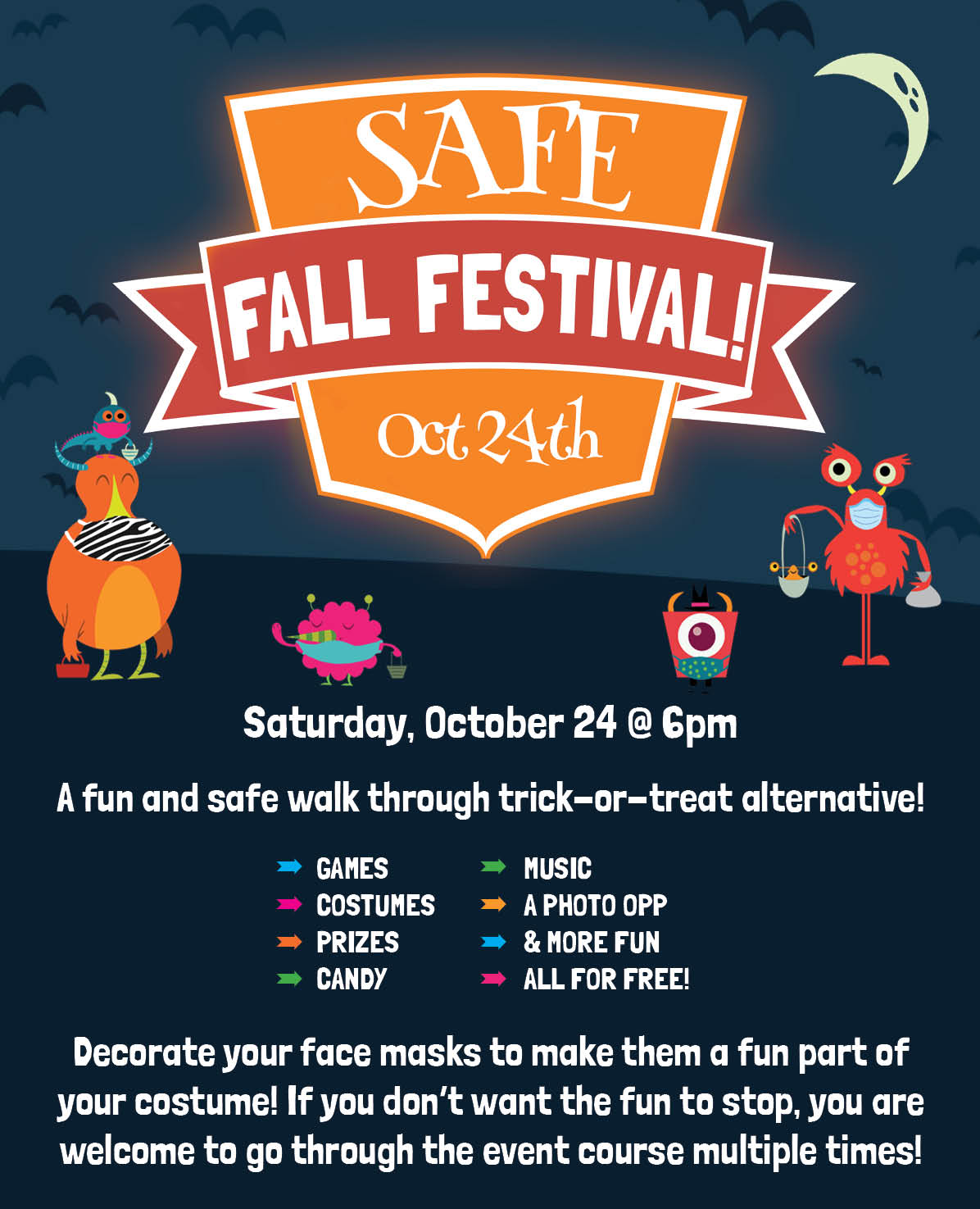 Fall Fest Informational Poster