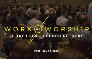 Work as Worship Event Graphic image