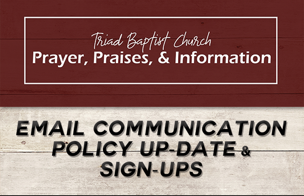 TBC Featured Blog Email Update