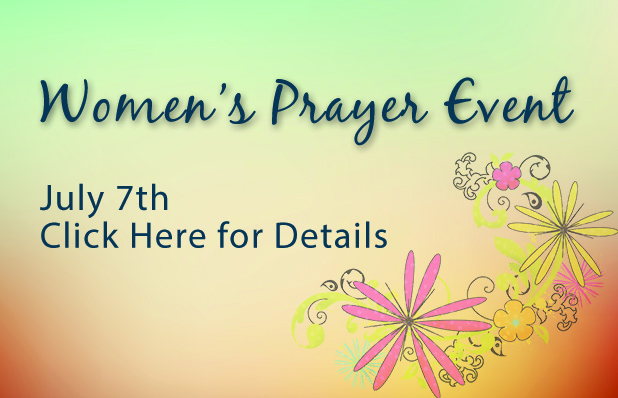 TBC Featured Blog Women's Prayer Event