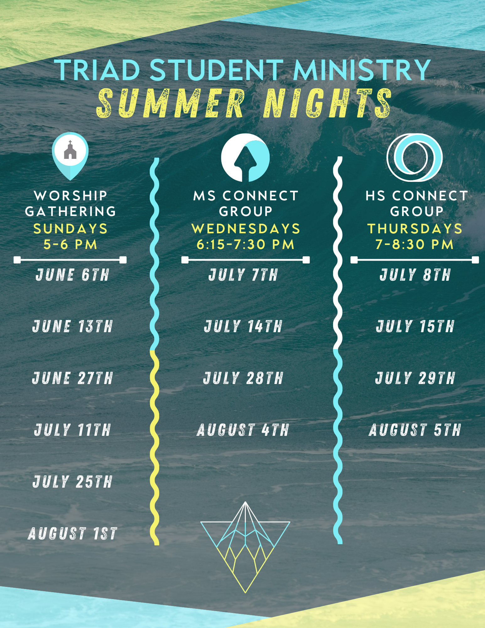 triad Student Ministry's Summer Nights
